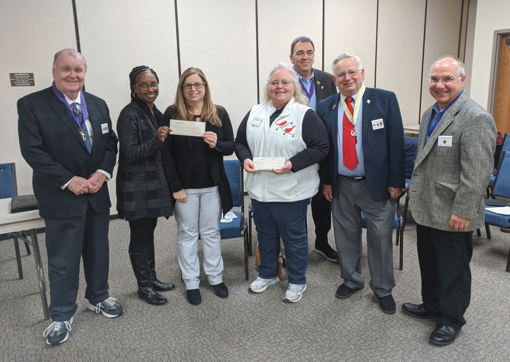 Donation To ARC And Special Olympics