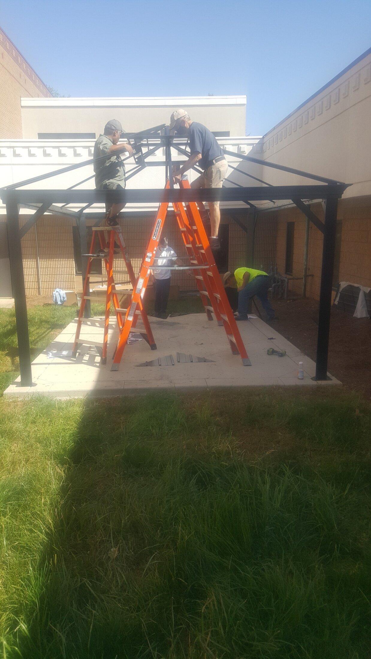 KofC Platform Cover Construction