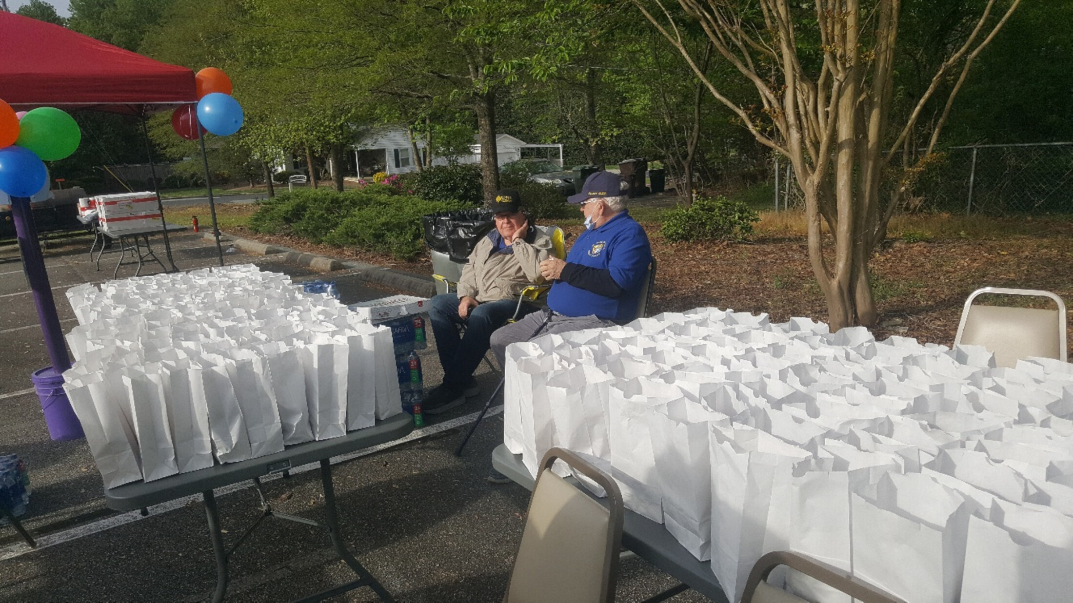 Walk For Life Packed Bags